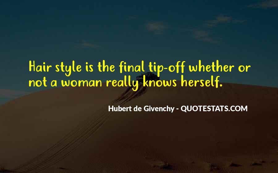 Hubert De Givenchy Quotes #321320