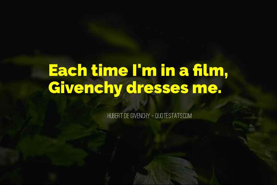 Hubert De Givenchy Quotes #340800