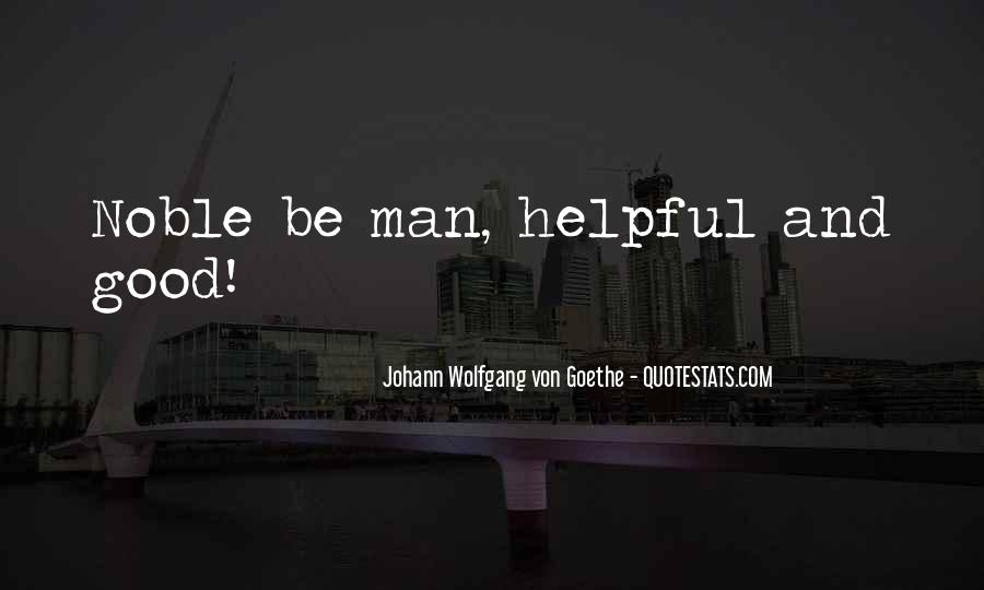 Quotes About Helpful Man #802684