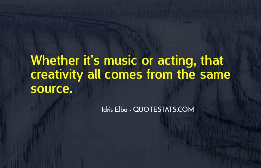 Idris Elba Quotes #404696