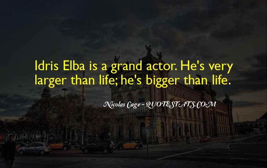 Idris Elba Quotes #704250