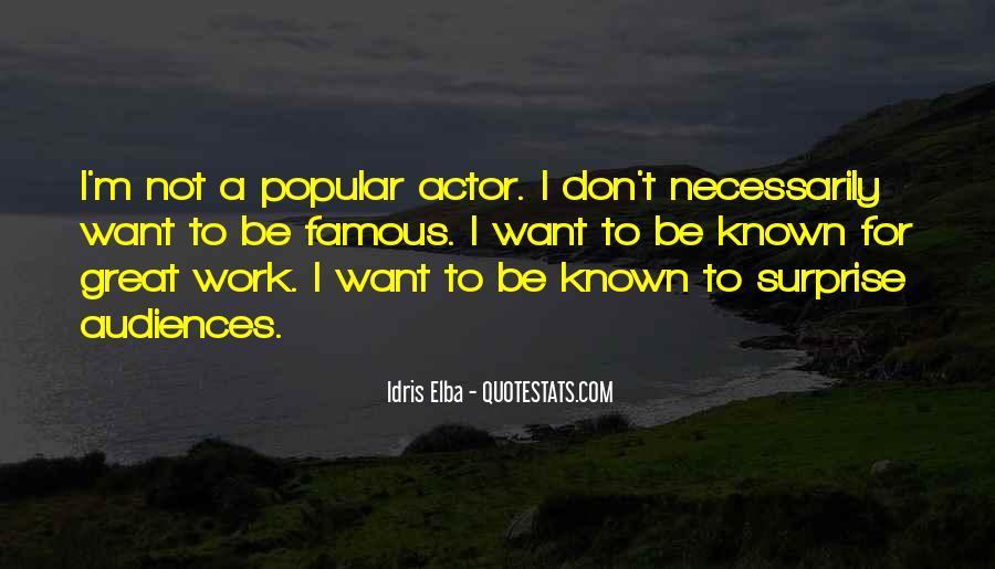 Idris Elba Quotes #969510