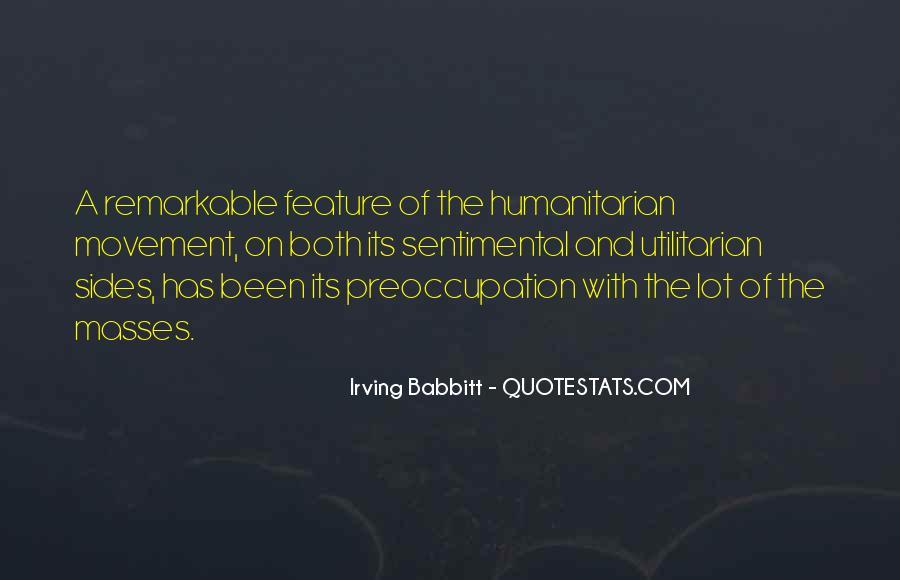 Irving Babbitt Quotes #1090740