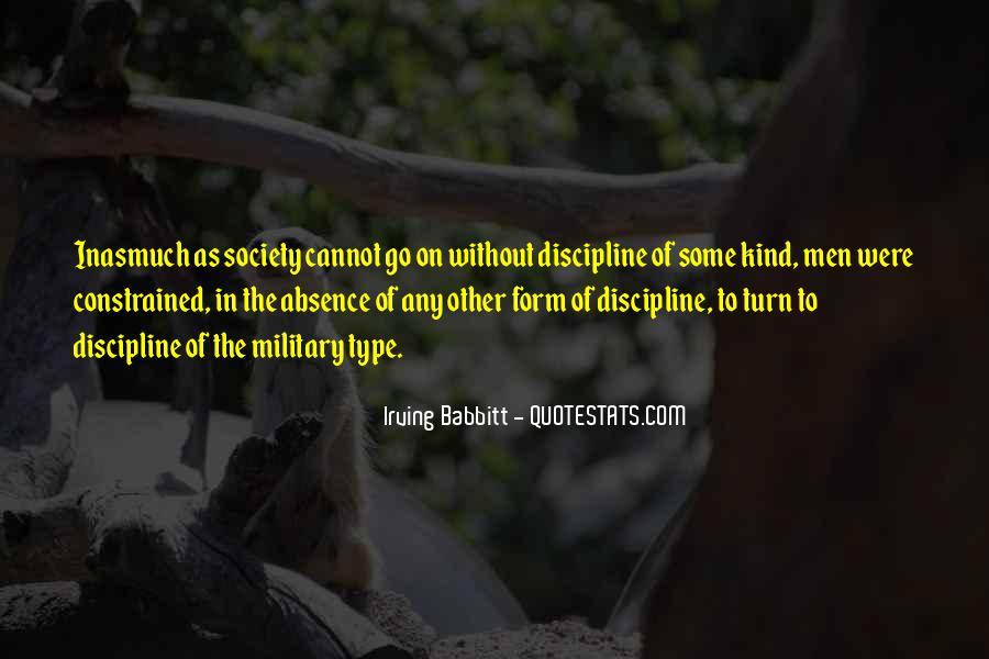 Irving Babbitt Quotes #284874