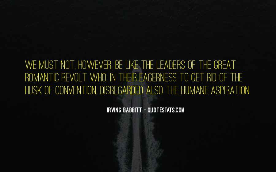 Irving Babbitt Quotes #931478
