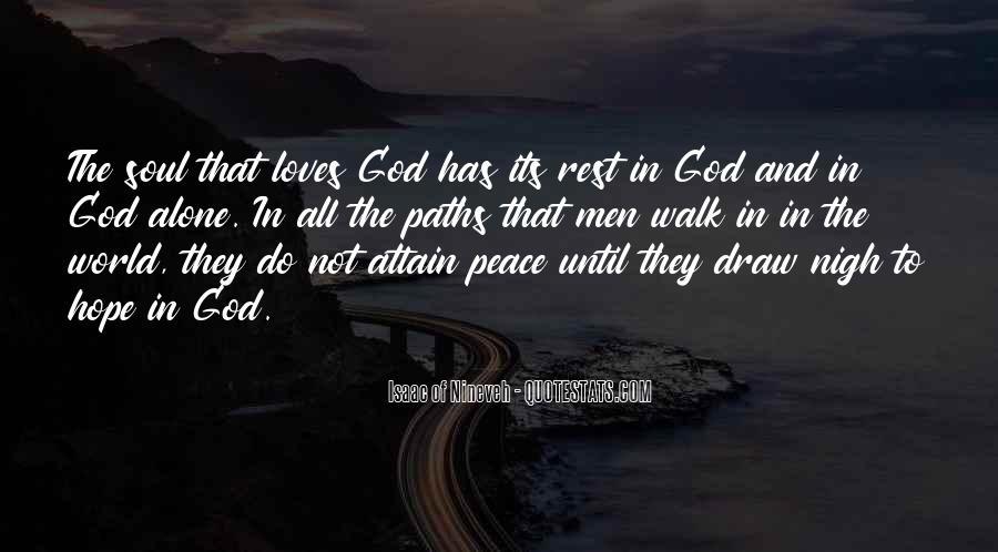 Isaac Of Nineveh Quotes #187613