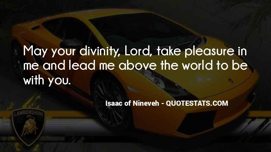 Isaac Of Nineveh Quotes #193951