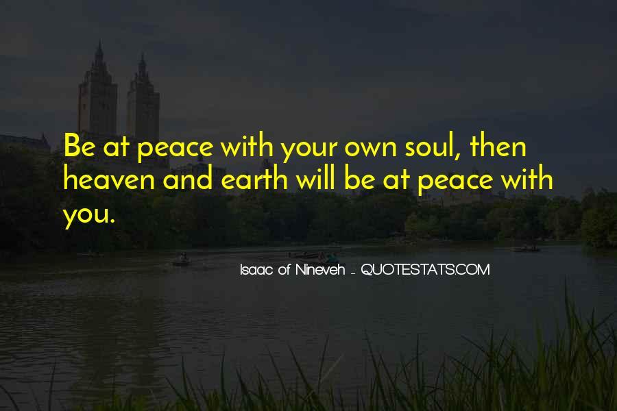 Isaac Of Nineveh Quotes #25242