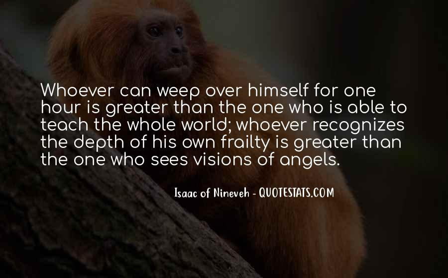 Isaac Of Nineveh Quotes #554641