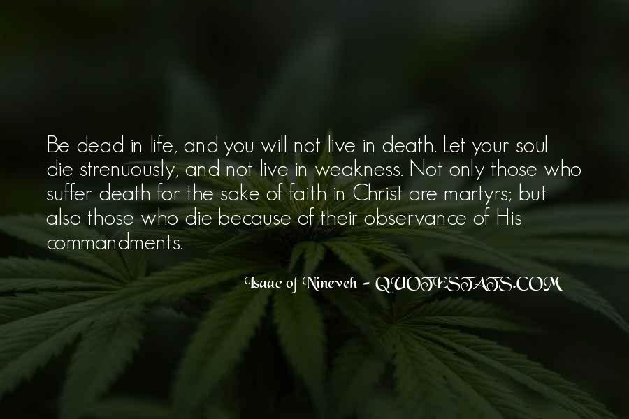 Isaac Of Nineveh Quotes #573969