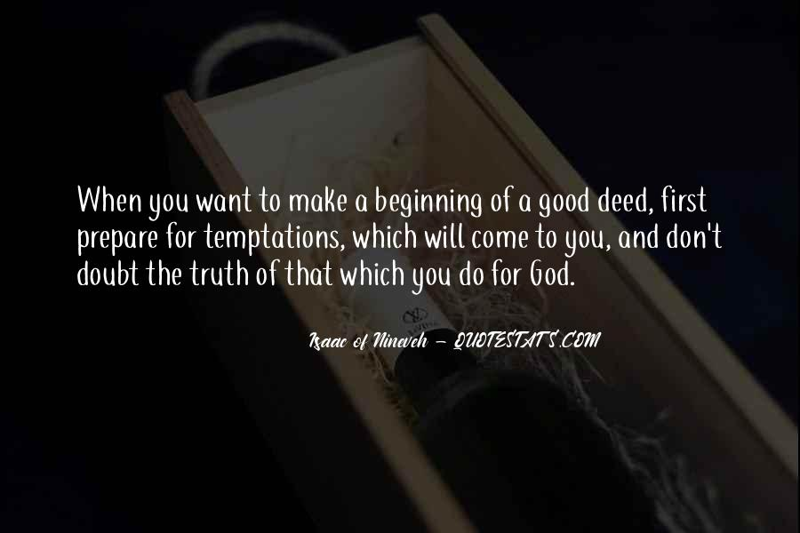 Isaac Of Nineveh Quotes #723135