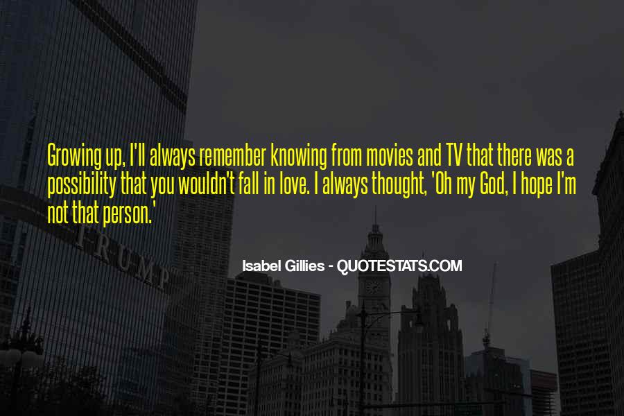 Isabel Gillies Quotes #90532