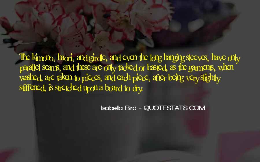 Isabella Bird Quotes #1335193