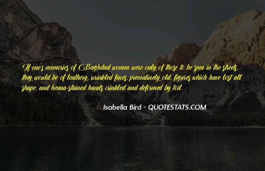 Isabella Bird Quotes #270943