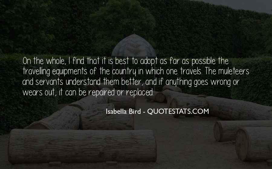 Isabella Bird Quotes #472492