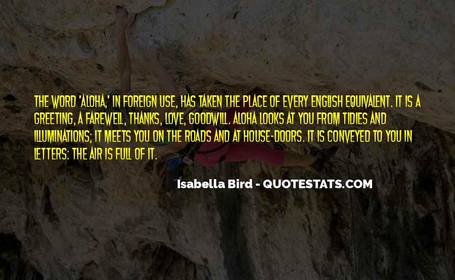 Isabella Bird Quotes #491171