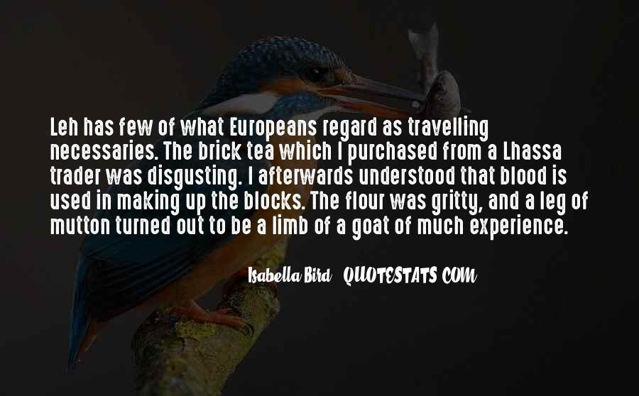 Isabella Bird Quotes #799192