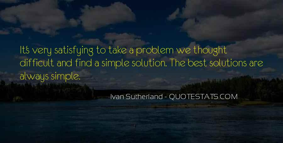 Ivan Sutherland Quotes #1768531