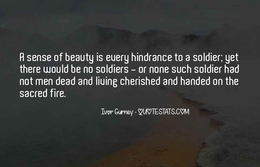 Ivor Gurney Quotes #6820