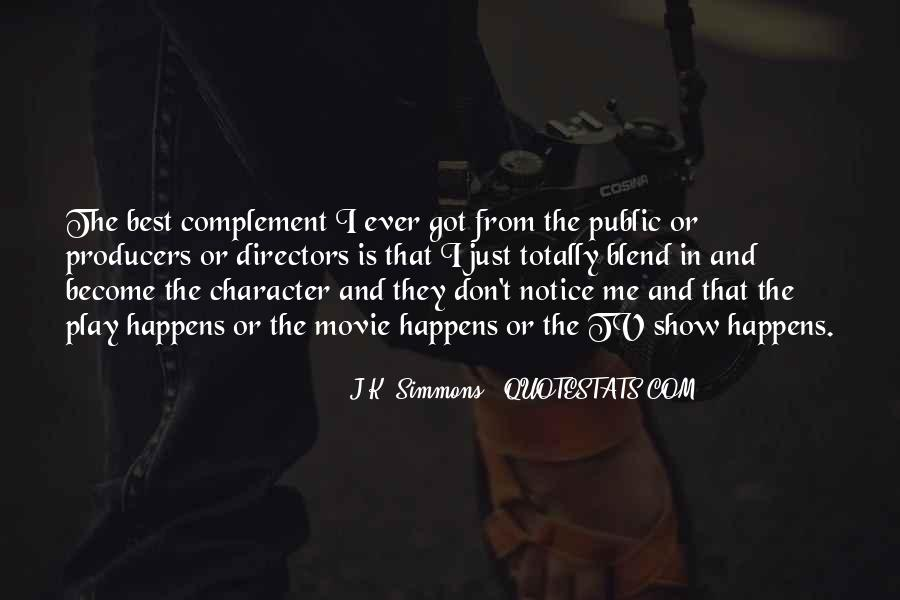 J K Simmons Quotes #852569