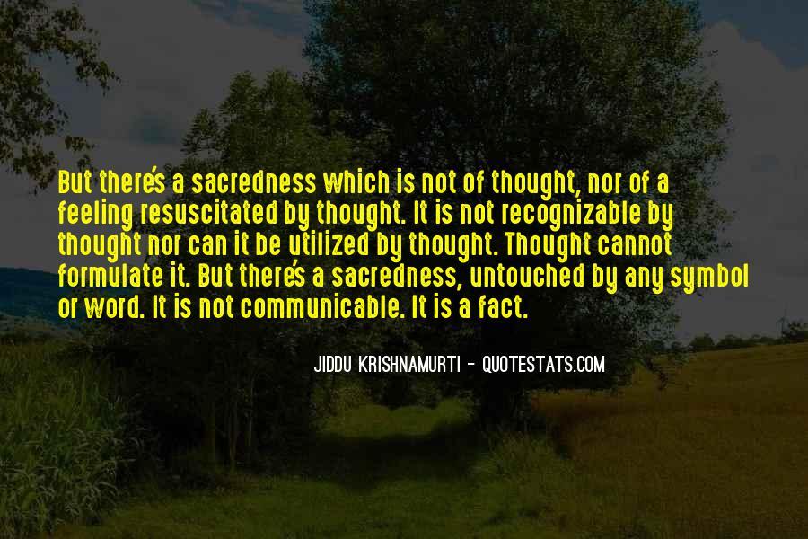 J Krishnamurti Quotes #104014
