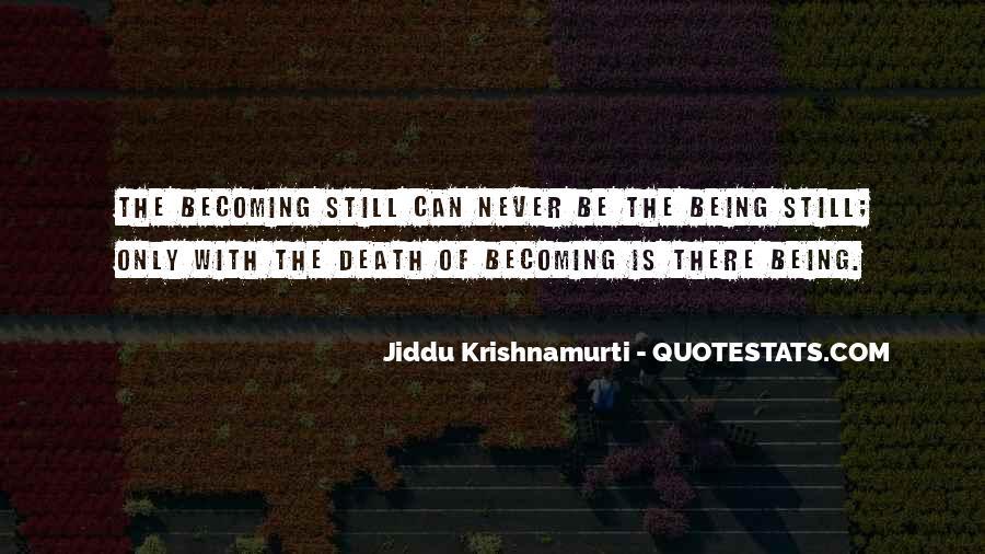 J Krishnamurti Quotes #11213