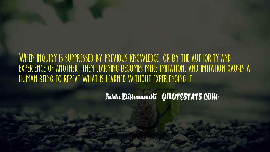 J Krishnamurti Quotes #23616