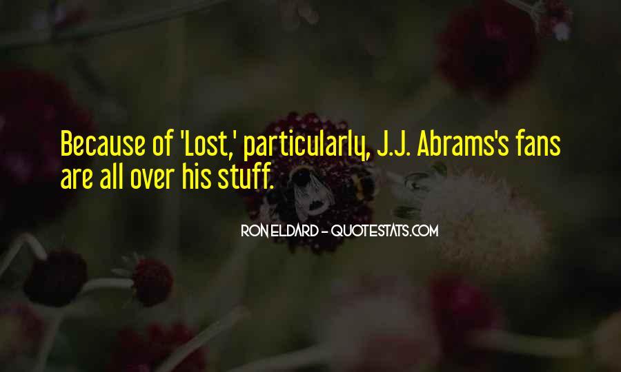 J.j. Abrams Quotes #1156829