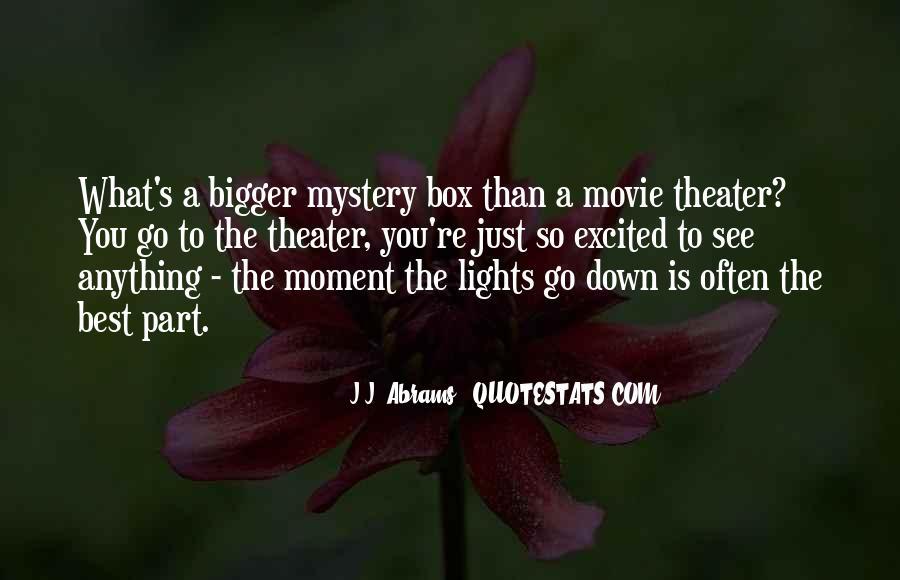 J.j. Abrams Quotes #1170726