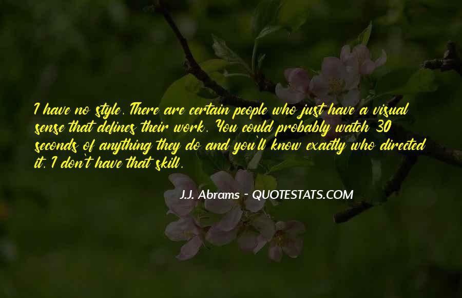 J.j. Abrams Quotes #1208879