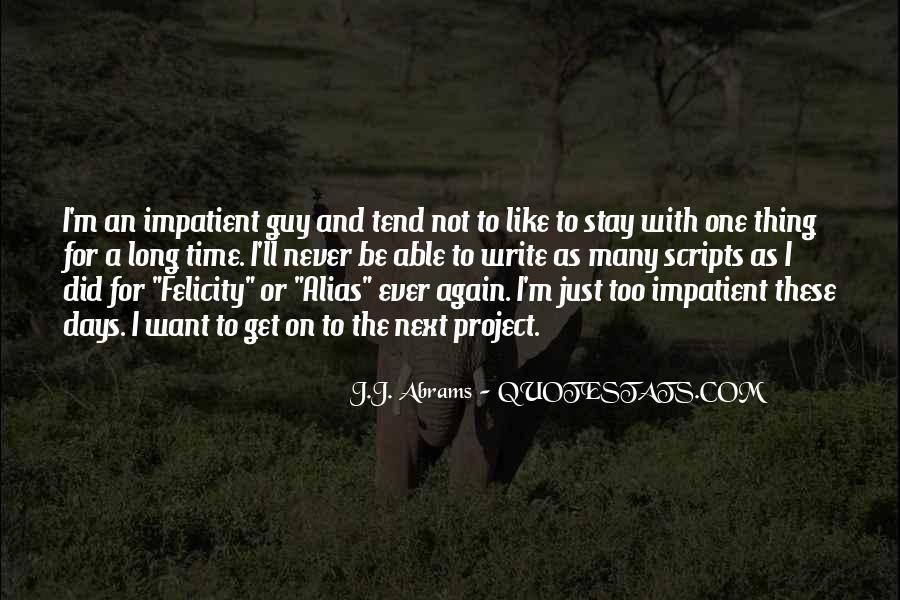 J.j. Abrams Quotes #1221096