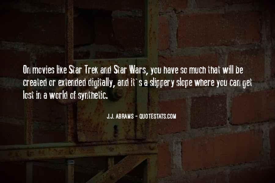 J.j. Abrams Quotes #194414