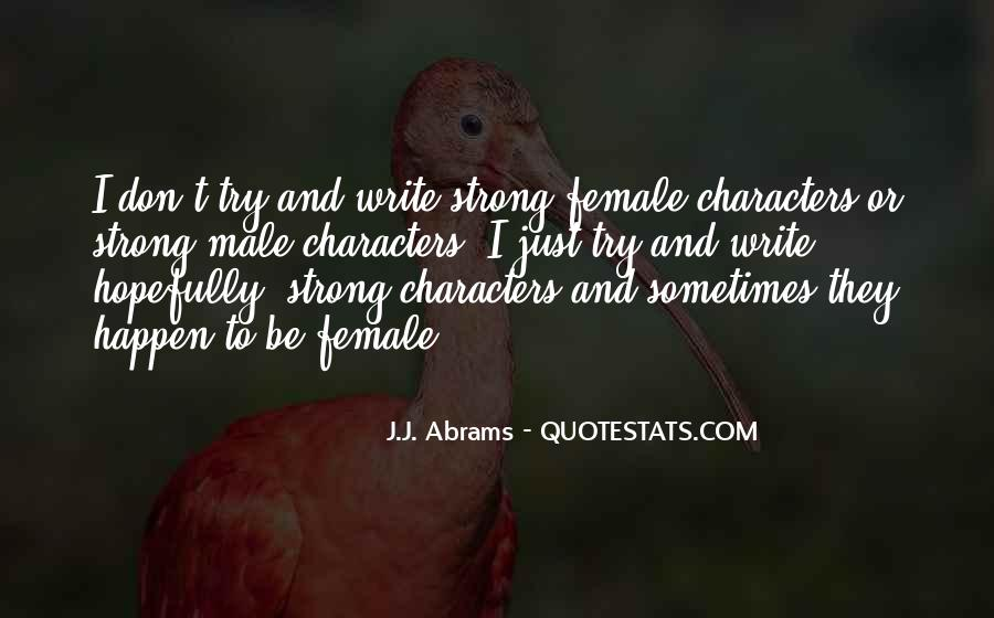 J.j. Abrams Quotes #199480