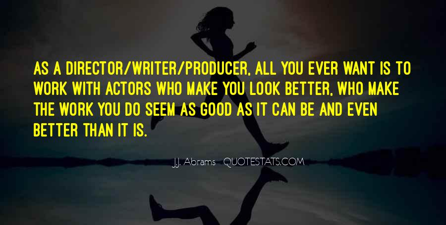 J.j. Abrams Quotes #390699