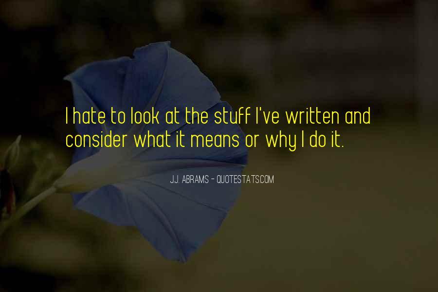 J.j. Abrams Quotes #639821