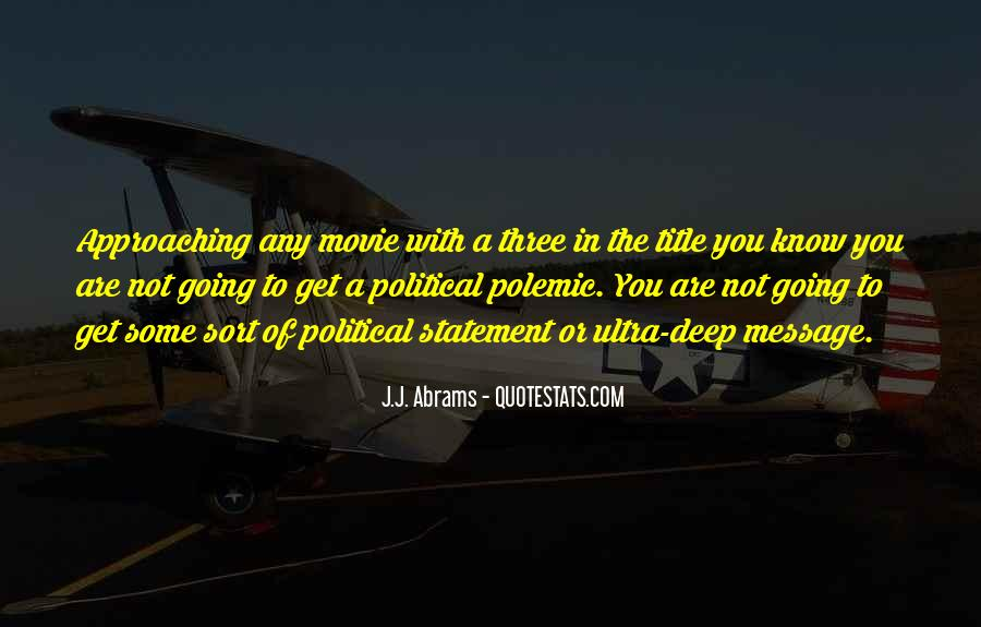 J.j. Abrams Quotes #679921