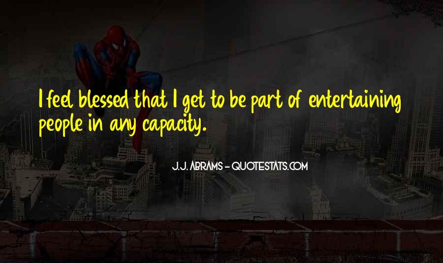 J.j. Abrams Quotes #746955