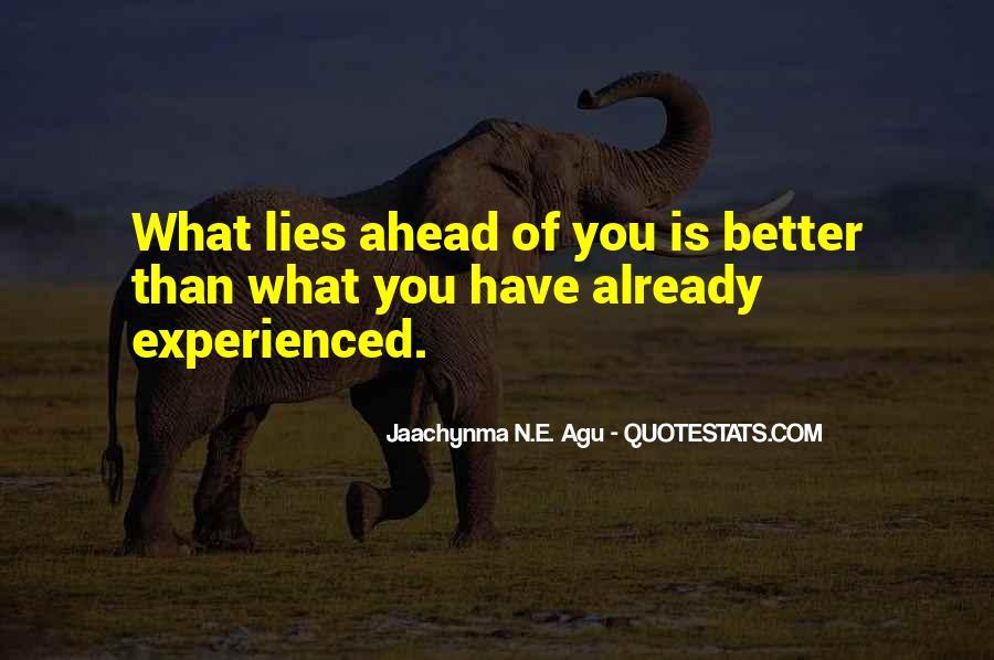 Jaachynma N E Agu Quotes #430645