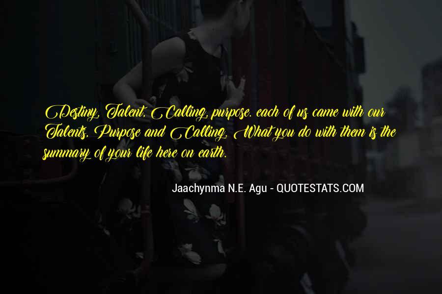 Jaachynma N E Agu Quotes #813733