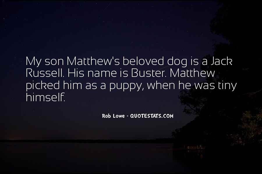 Jack Russell Quotes #645722