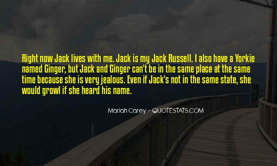 Jack Russell Quotes #830841