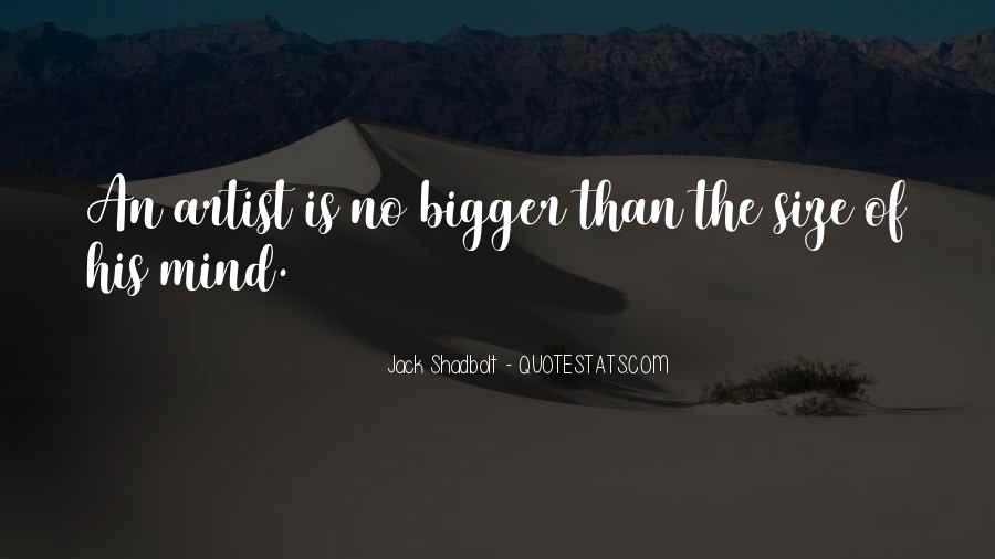 Jack Shadbolt Quotes #299462