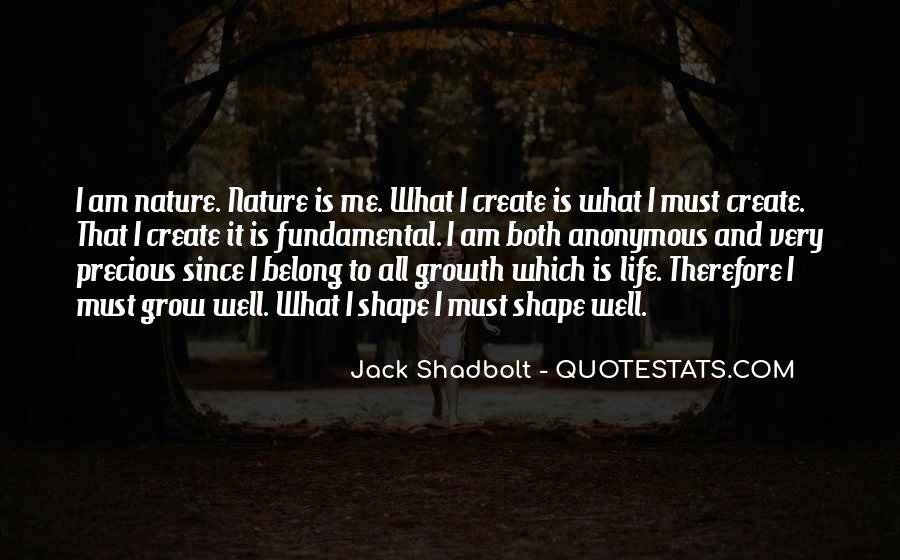 Jack Shadbolt Quotes #64994
