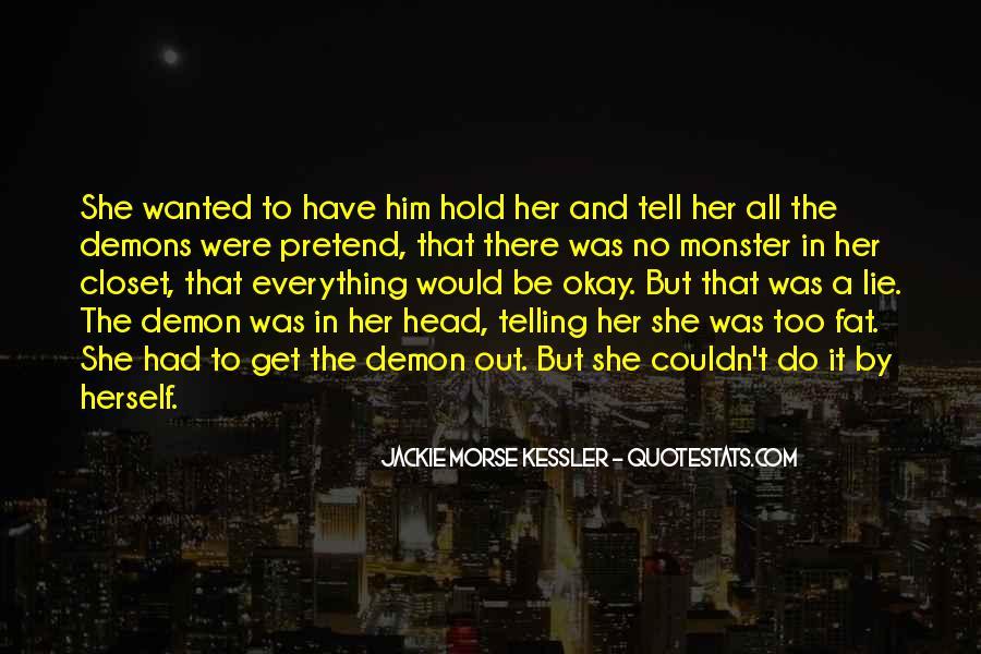 Jackie Morse Kessler Quotes #280809