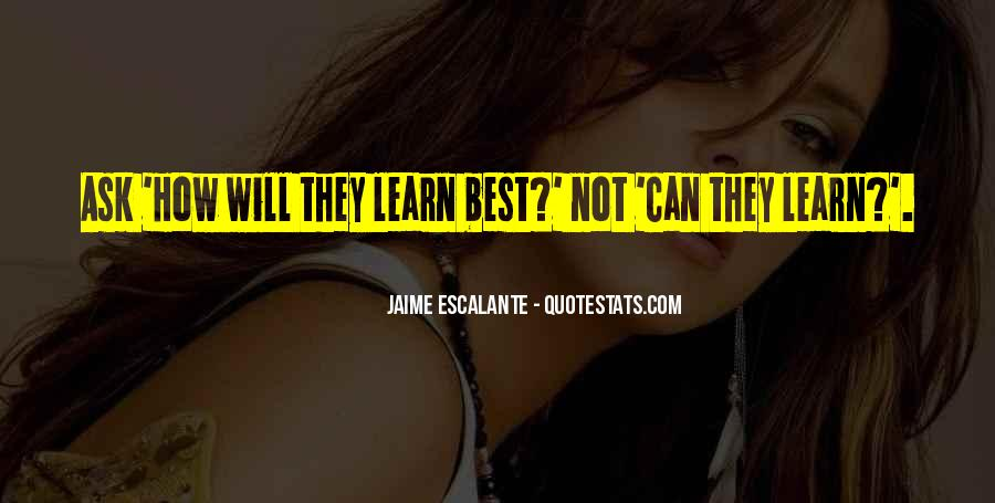 Jaime Escalante Quotes #269589