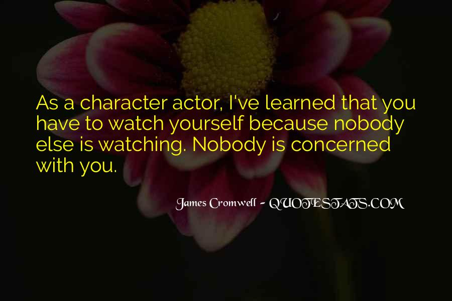 James Cromwell Quotes #1154783