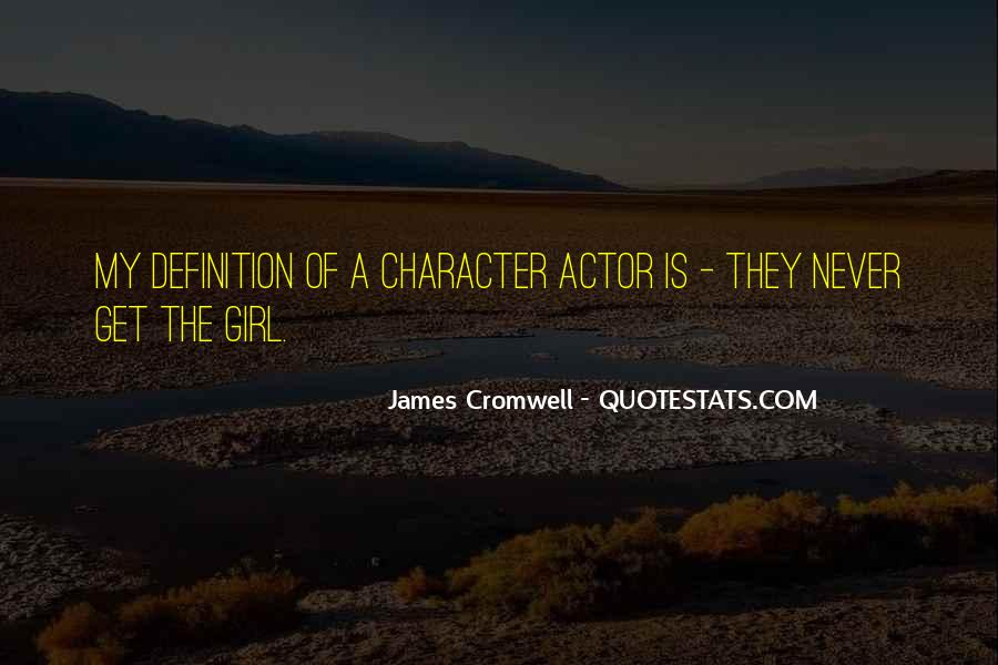 James Cromwell Quotes #1250095