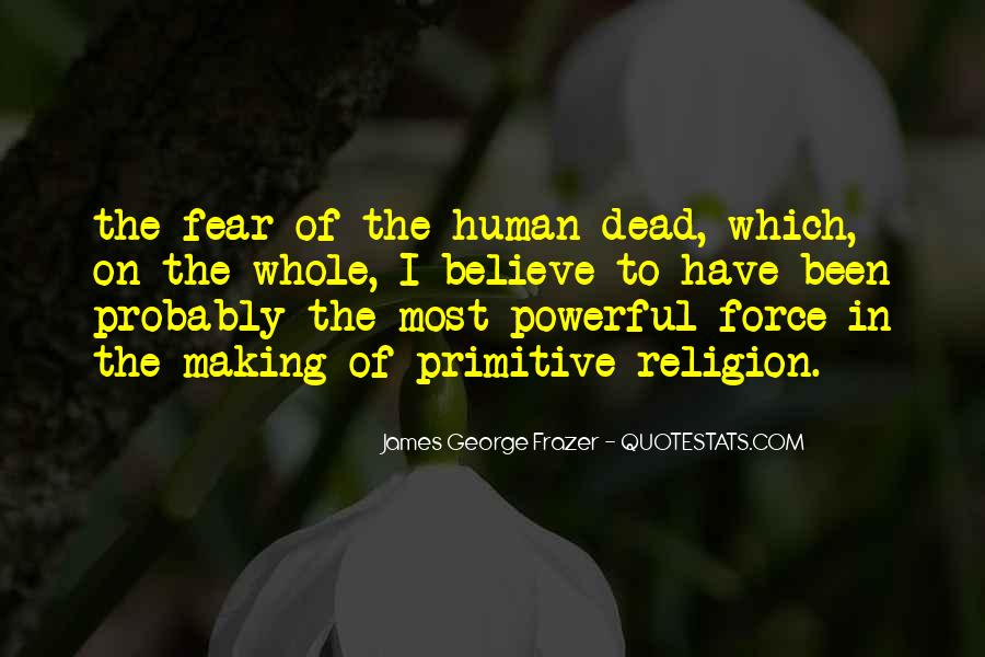 James George Frazer Quotes #698261