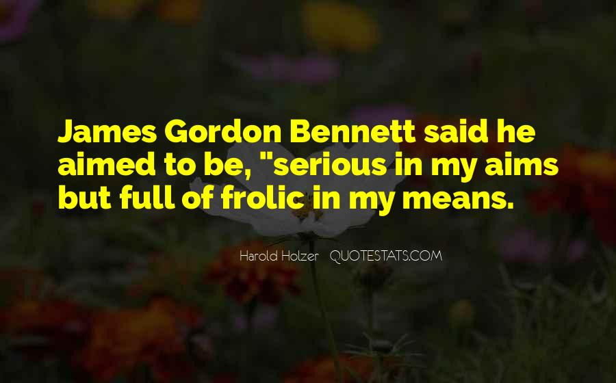 James Gordon Quotes #913247