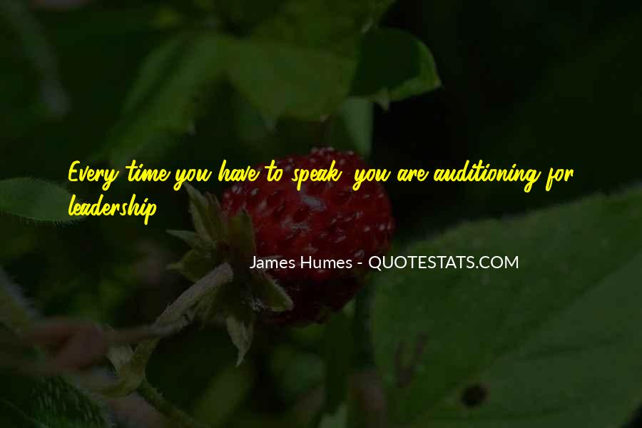 James Humes Quotes #1201048
